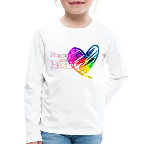 Honour Your Heart 2021 - Kids' Premium Longsleeve Shirt