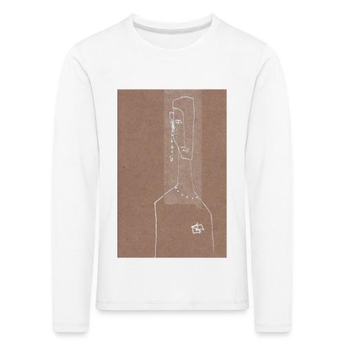Face_Phone - Långärmad premium-T-shirt barn