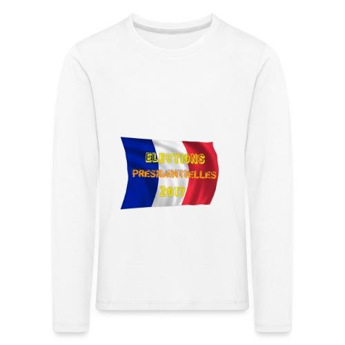 ELECTIONS 2017 - T-shirt manches longues Premium Enfant