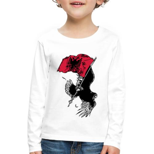 Albanischer Adler - Kinder Premium Langarmshirt