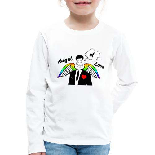 Angel of Love Regenbogen - Kinder Premium Langarmshirt
