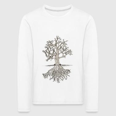 arbre osseux - T-shirt manches longues Premium Enfant