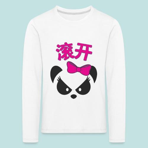 Sweary Panda - Kids' Premium Longsleeve Shirt
