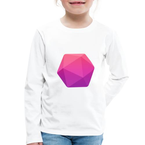 Pink D20 - D&D Dungeons and dragons dnd - T-shirt manches longues Premium Enfant