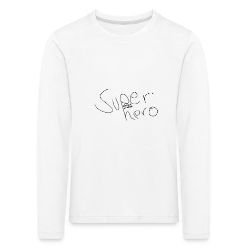 SUPERHERO - Kinder Premium Langarmshirt