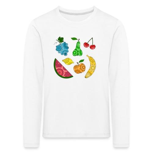 Obstsalat - Kinder Premium Langarmshirt