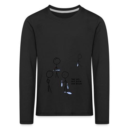 har sei png - Premium langermet T-skjorte for barn