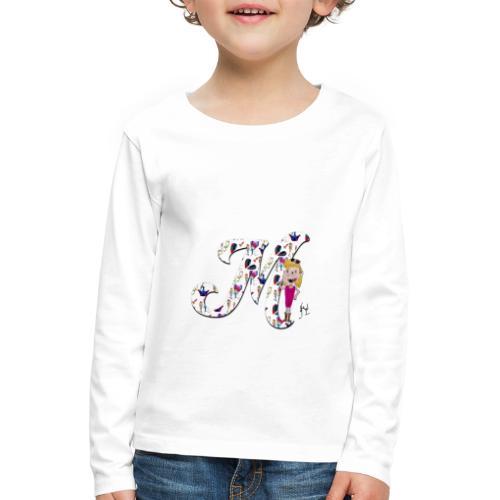 M comme merveilleuse - T-shirt manches longues Premium Enfant