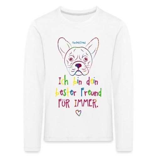Bester Freund Frenchie - Französische Bulldogge - Kinder Premium Langarmshirt