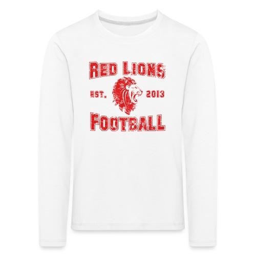 Football Vintage - Kinder Premium Langarmshirt