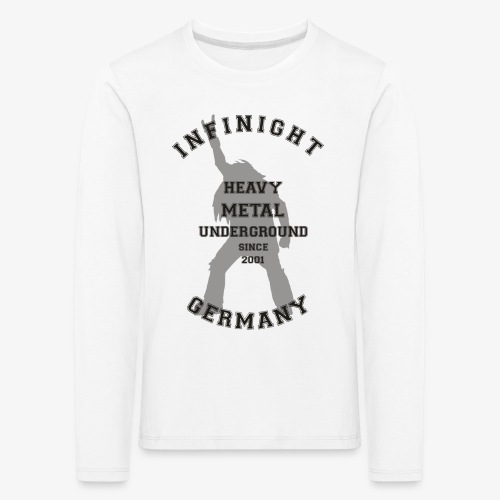 Infinight College headbanger dark - Kinder Premium Langarmshirt