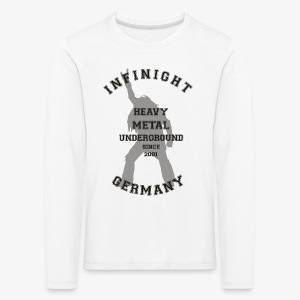 Infinight College headbanger dark - Kinder Premium Langarmshirt