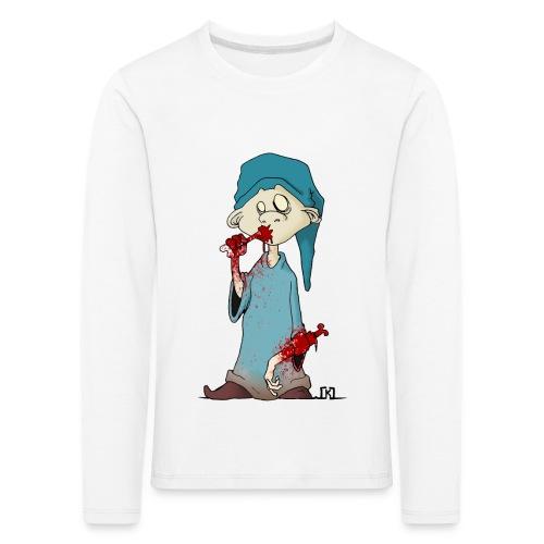 simple minded zombi - T-shirt manches longues Premium Enfant