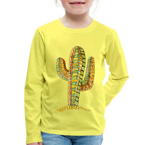 Le cactus - T-shirt manches longues Premium Enfant