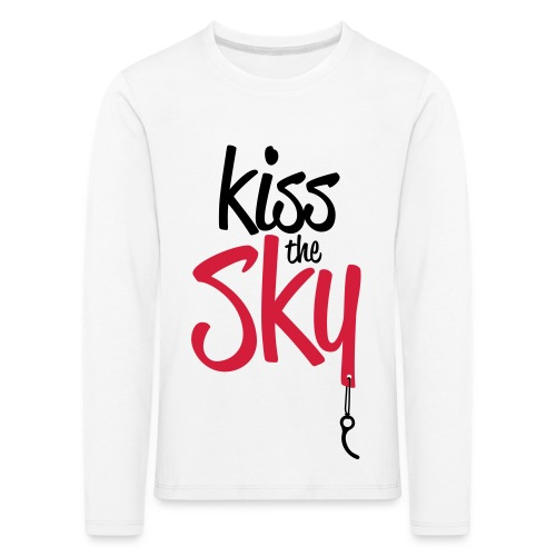 Kiss the Sky - Kinder Premium Langarmshirt