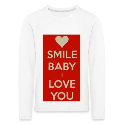 13EA371C 7A76 4027 BF26 429EE3809D0D - Långärmad premium-T-shirt barn