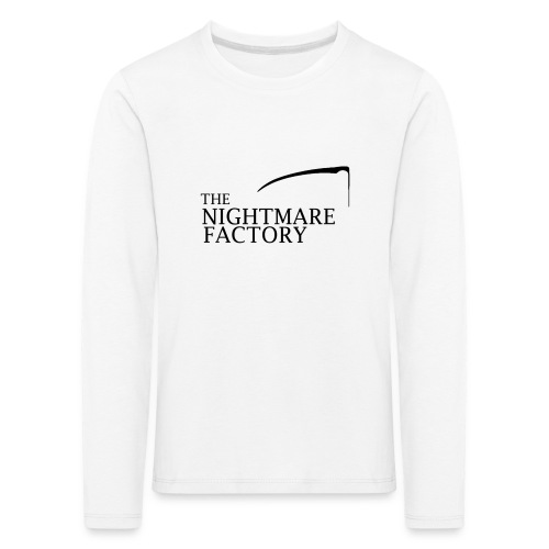 nightmare factory Nero png - Kids' Premium Longsleeve Shirt
