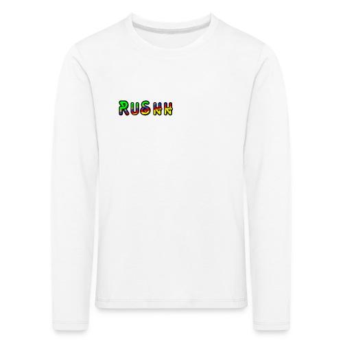 rushhlogoo - Kids' Premium Longsleeve Shirt