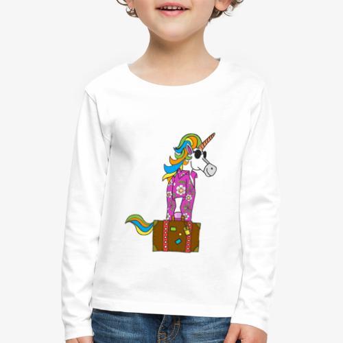 Unicorn trip - T-shirt manches longues Premium Enfant