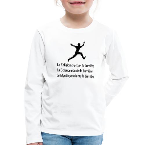 Lumière Religion Science Mystique - T-shirt manches longues Premium Enfant