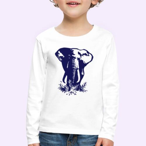 Big tings a gwaan... - Kinder Premium Langarmshirt