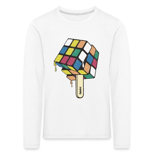 Rubik's Cube Ice Lolly - Kids' Premium Longsleeve Shirt