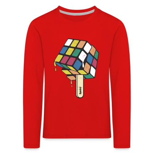 Rubik's Cube Ice Lolly - Kids' Premium Longsleeve Shirt
