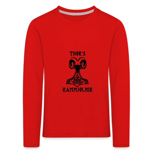 THOR's-RAMMjolnir - T-shirt manches longues Premium Enfant