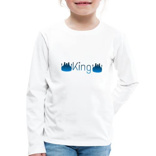 Design King - T-shirt manches longues Premium Enfant