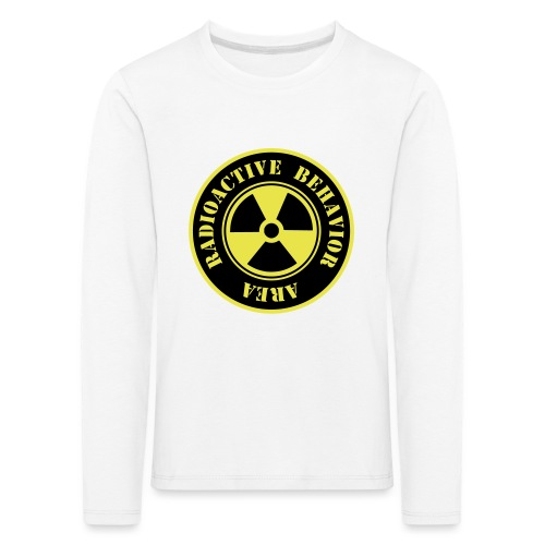 Radioactive Behavior - Camiseta de manga larga premium niño