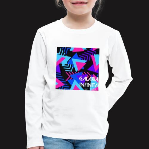 Sencillo Galaxia Infinita - Camiseta de manga larga premium niño