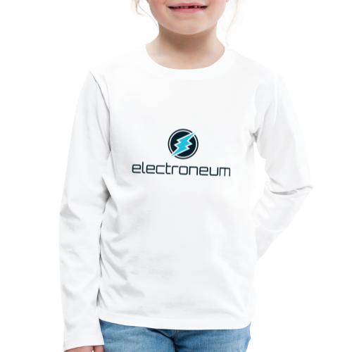 Electroneum - Kids' Premium Longsleeve Shirt