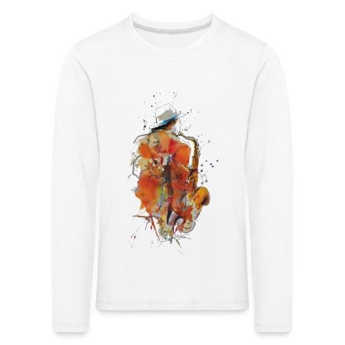 Jazz men - T-shirt manches longues Premium Enfant