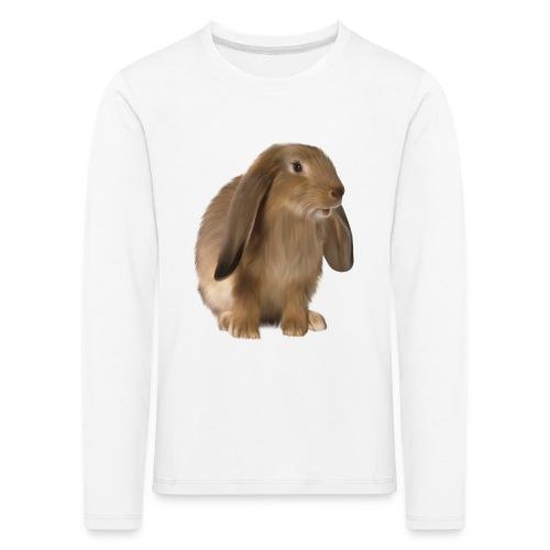 Brown Rabbit art - Kinderen Premium shirt met lange mouwen