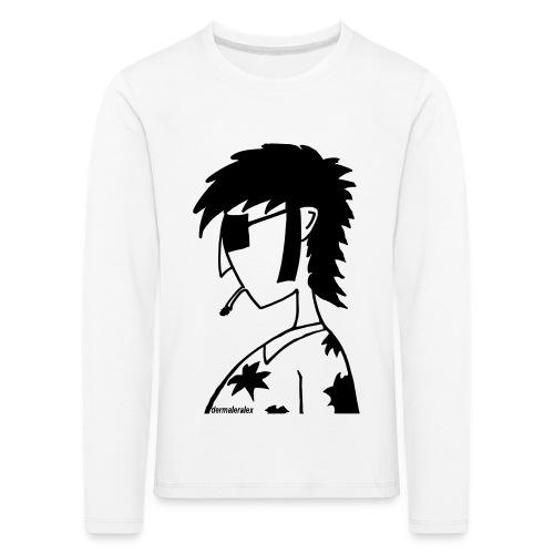 hippie - Kinder Premium Langarmshirt