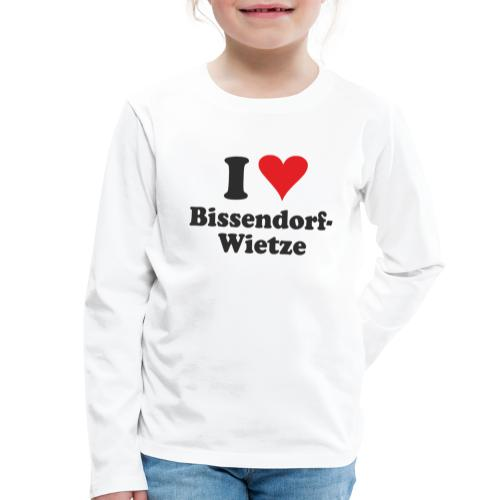 I Love Bissendorf-Wietze - Kinder Premium Langarmshirt