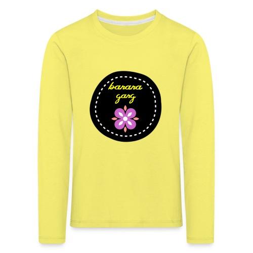 Banana - Lasten premium pitkähihainen t-paita
