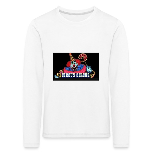 CLOWN - Maglietta Premium a manica lunga per bambini
