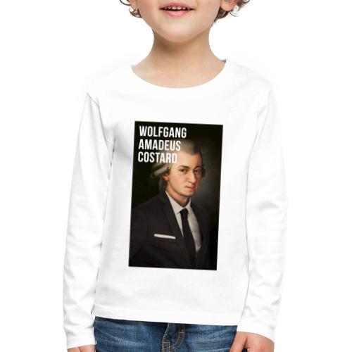 Wolfgang Amadeus Costard - T-shirt manches longues Premium Enfant