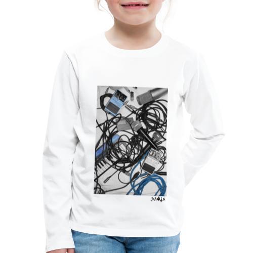 Jumio Print - Lasten premium pitkähihainen t-paita