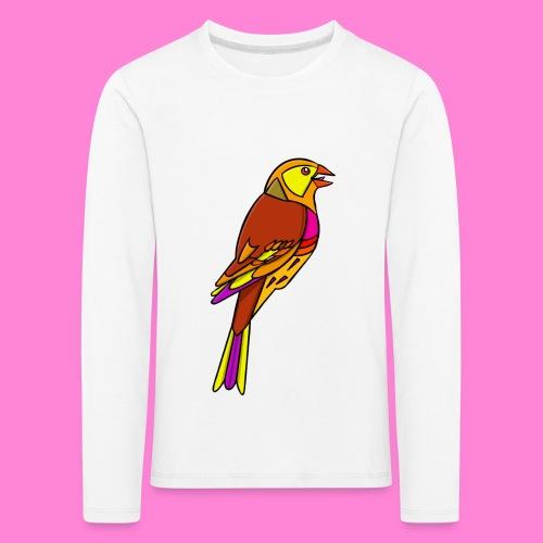 Geelgors illustratie - Kinderen Premium shirt met lange mouwen