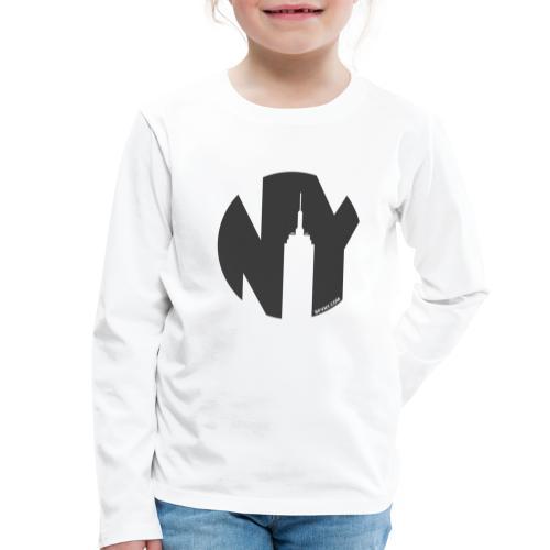 Logo French Yorker noir - T-shirt manches longues Premium Enfant