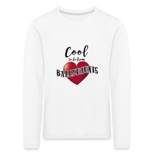 Ballyhaunis tshirt Recovered - Kids' Premium Longsleeve Shirt
