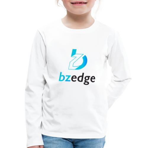 BZEdge Cutting Edge Crypto - Kids' Premium Longsleeve Shirt
