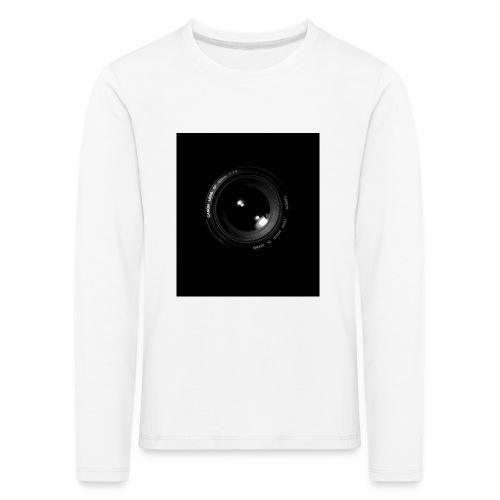 Objektiv - Kinder Premium Langarmshirt