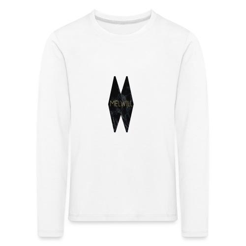 MELWILL black - Kids' Premium Longsleeve Shirt