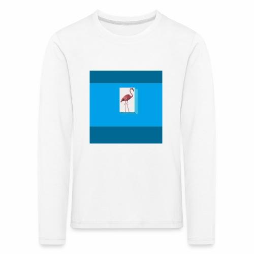 Flamingoscotteri - Maglietta Premium a manica lunga per bambini
