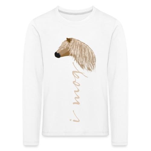 I mog Haflinger - Kinder Premium Langarmshirt