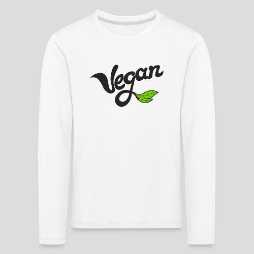 Vegan - T-shirt manches longues Premium Enfant