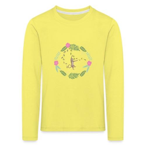 Mikey monkey - Maglietta Premium a manica lunga per bambini